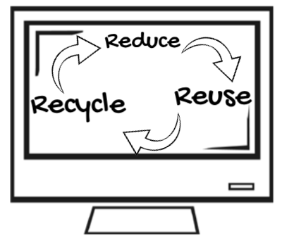 Reduce, Reuse, Recycle – step towards green IT